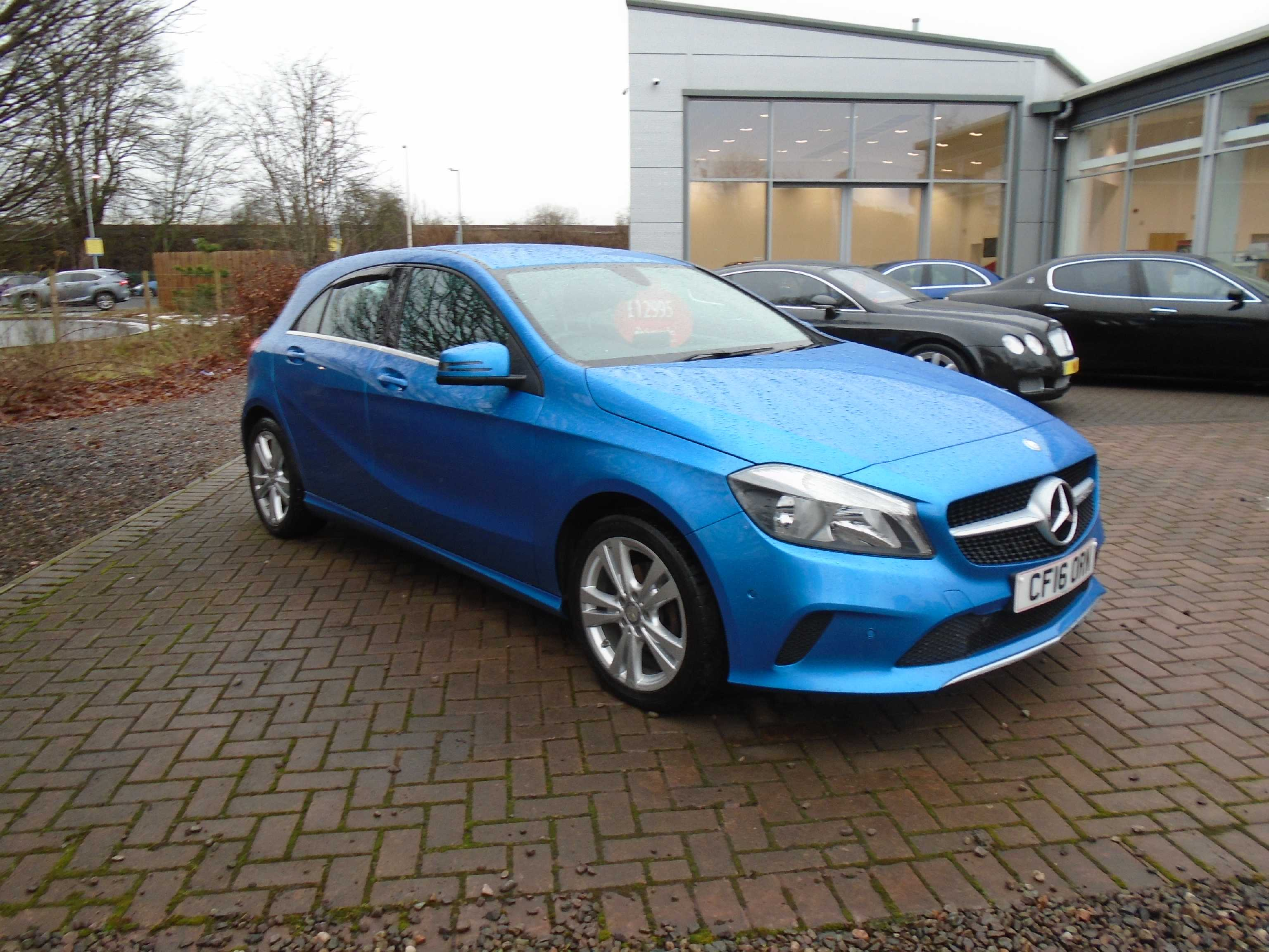MERCEDES-BENZ A CLASS DIESEL HATCHBACK A180d Sport Executive 5dr