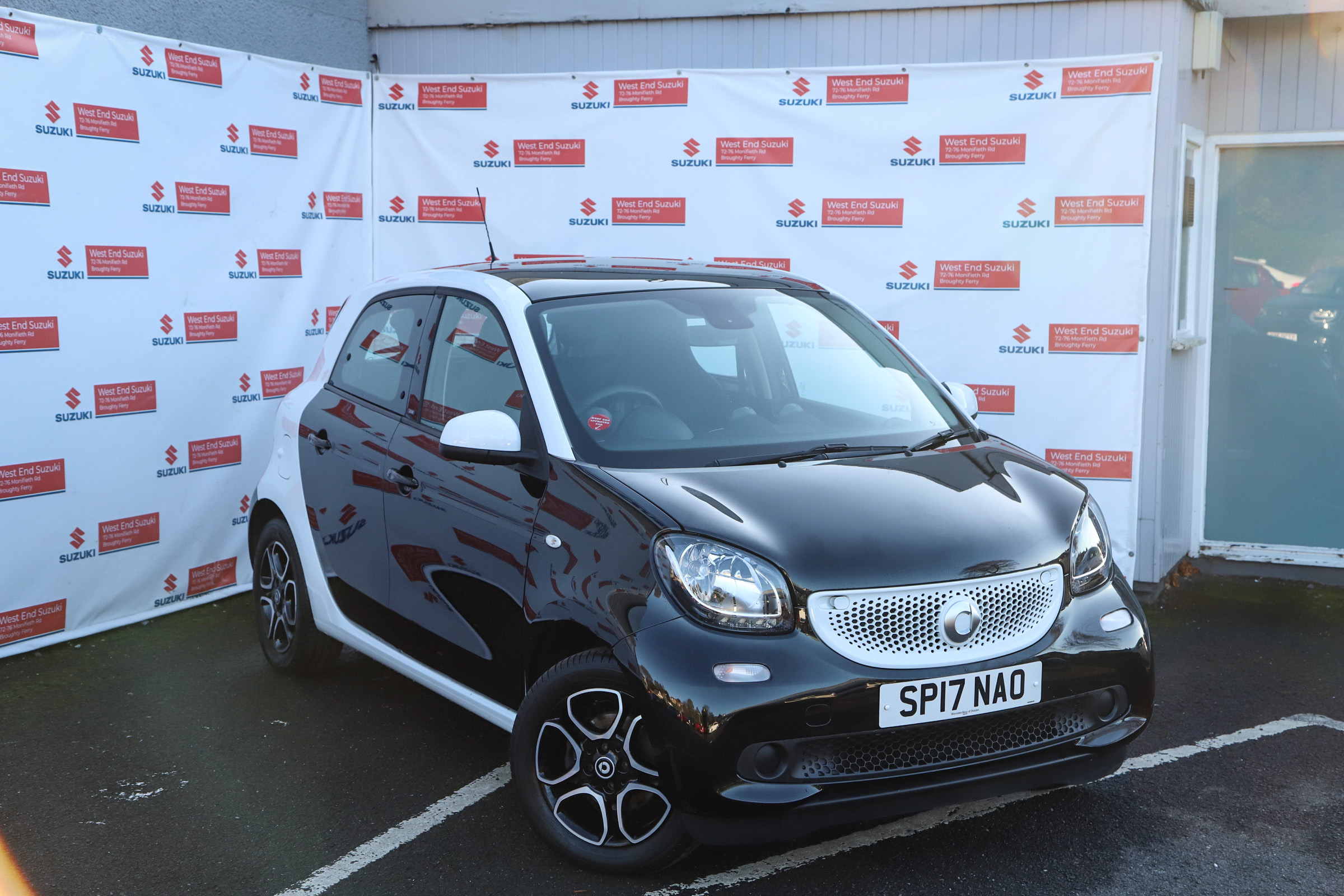 SMART FORFOUR HATCHBACK 0.9 Turbo Prime Premium 5dr Auto